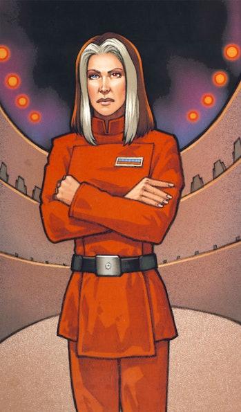 Ysanne Isard rey grandmother rise of skywalker
