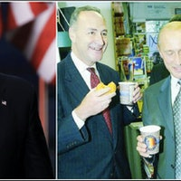 Here's the Story Behind the Putin Donut Photo Trump Shared Today