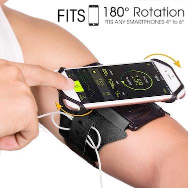 rotatable arm band