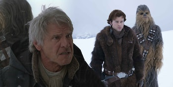 Old and Young Han Solo
