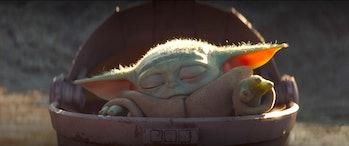 Baby Yoda in 'The Mandalorian' on Disney Plus