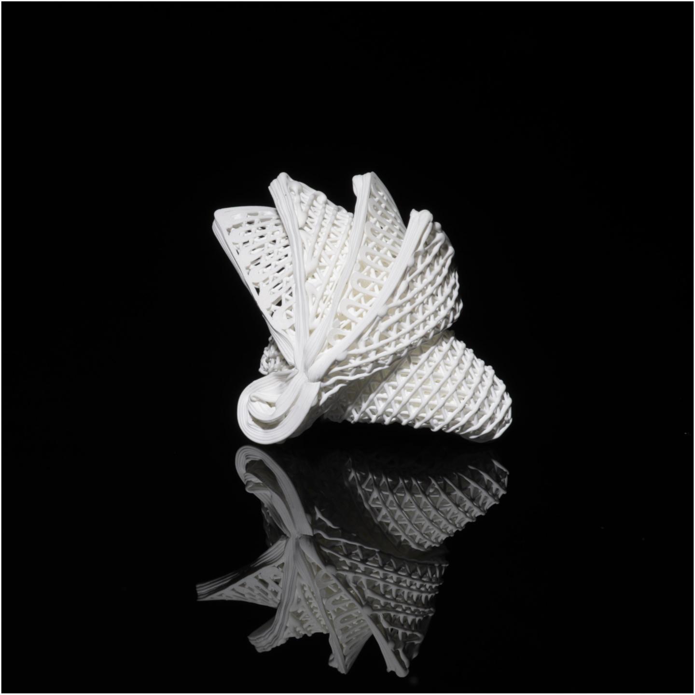 4D printing ceramics