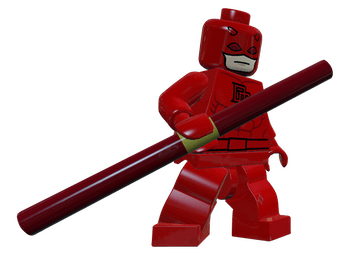 Daredevil in 'LEGO Marvel Super Heroes.'