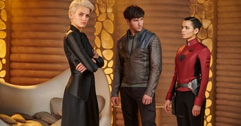 The love triangle of 'Krypton'