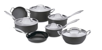 Cuisinart GreenGourmet Hard-Anodized Nonstick 12-Piece Cookware Set