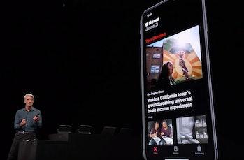 Dark mode on iOS 13.