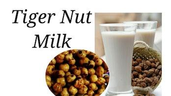 tiger nut milk