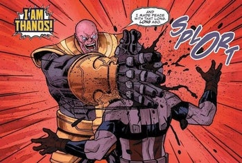 thanos kills captain america