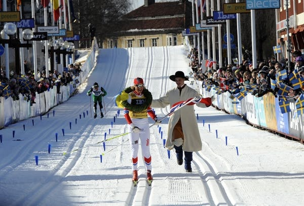 Vasaloppet cross-country skiing competition Sweden