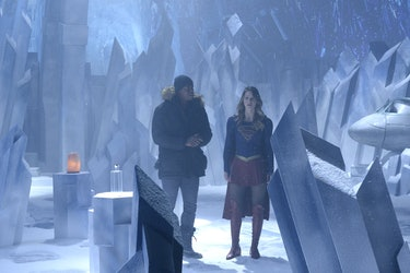 Supergirl Fortress of Solitude