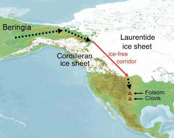 Ice free corridor