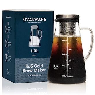 Ovalware RJ3Cold Brew Coffee Maker