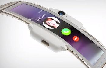 nubia alpha smartwatch phone concept mwc 2019