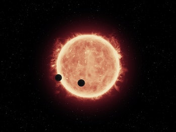 NASA's Hubble Telescope Makes First Atmospheric Study of Earth-Sized Exoplanets
