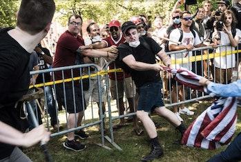 white supremacist virginia rally