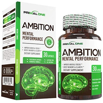 Ambition Nootropic Brain Booster Supplement