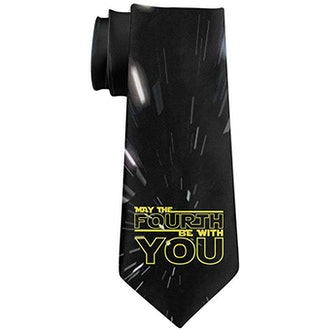 May the 4th Be With You Neck Tie