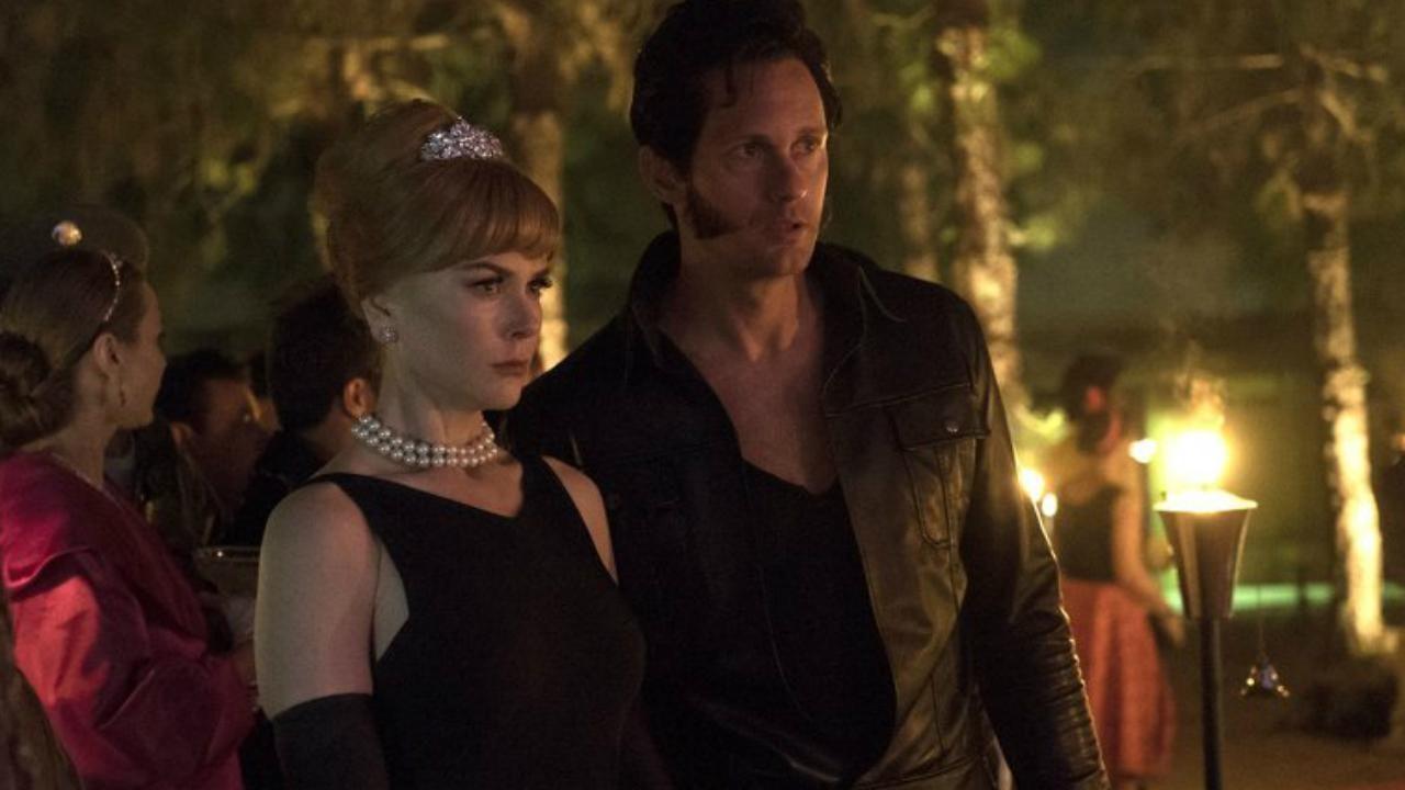 Skarsgårdand Kidman in the 'Big Little Lies' Season 1 finale