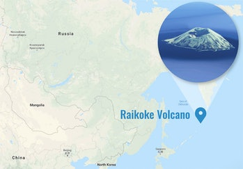 Russia's Kamchatka Peninsula is nestled among the Kuril Islands, which traces a line between Russia and Japan.