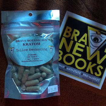 Time to see what the hype is about! #kratom #bravenewbooks