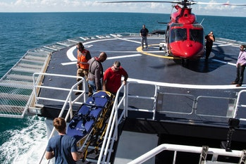go searcher spacex recover vessel
