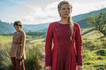 Lagertha and her mysterious new love on 'Vikings'