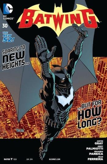 Luke Fox Batman Batwing Batwoman