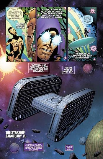 Marvel Thanos Sanctuary Ragnarok