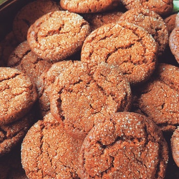 Holiday baking 2016, Ginger Snaps