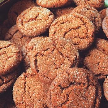 Holiday baking 2016, Ginger Snaps