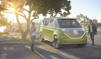 Volkswagen's autonomous hippie van concept is one of the many ideas the company has publicly detailed.