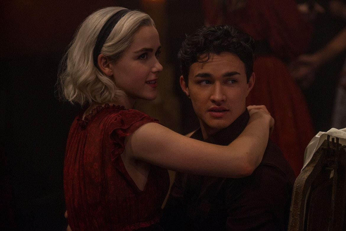 chilling adventures of sabrina with nick