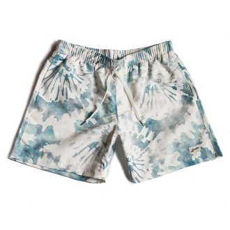 Bather Trunk Co. Green Tie Dye Swim