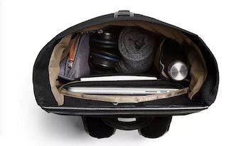 shift backpack interior