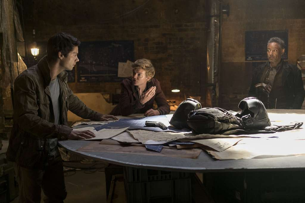 Resistance planning looks stressful in 'The Death Cure'.