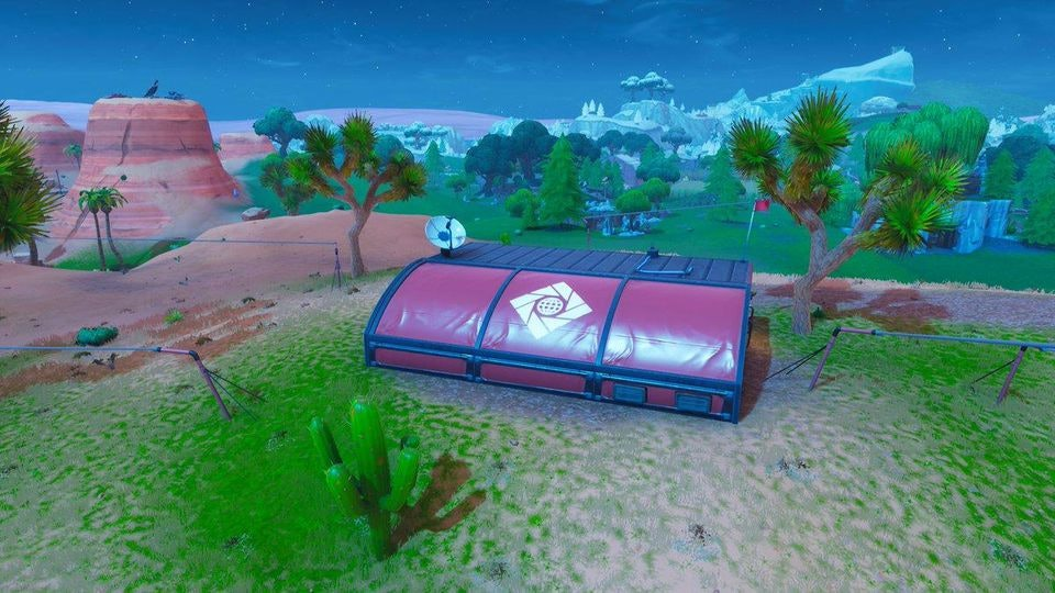 Fortnite Expedition Outpost