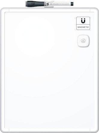 U Brands Contempo Magnetic Dry Erase Board - 11x14 Inches