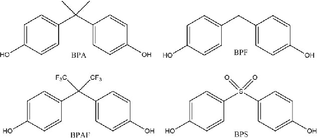 Bisphenol A and its replacements bear a striking resemblance to one another.