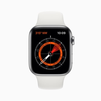 The Apple Watch Compass.