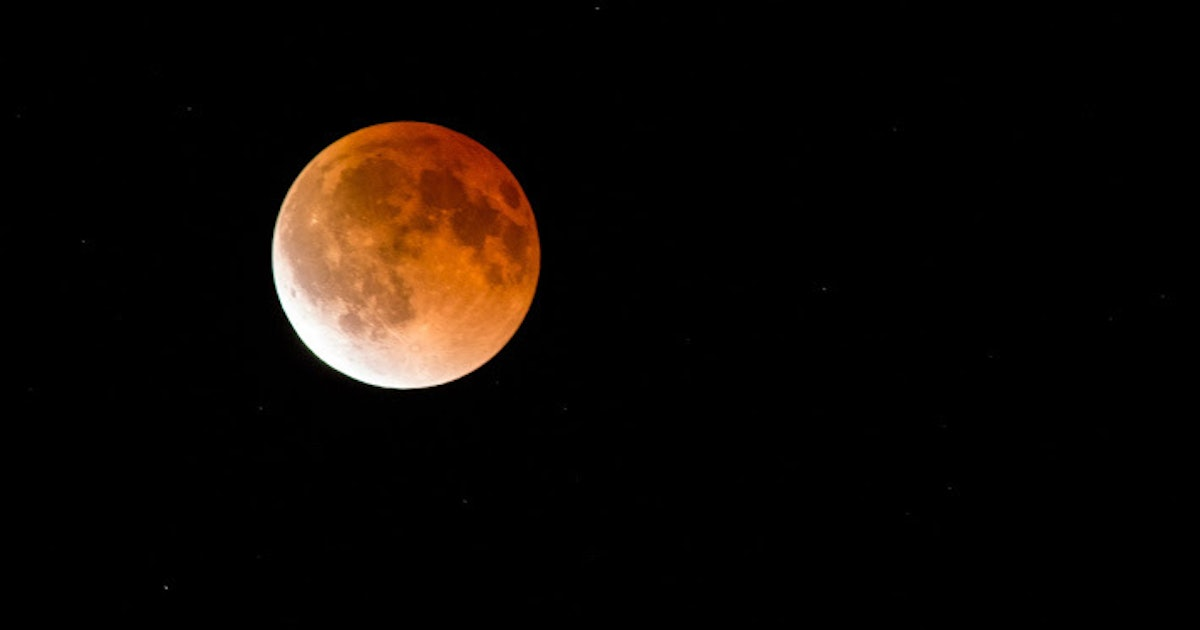 Lunar Eclipse, Meteor Shower, Mars and More to See in July's Night Sky