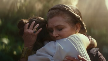 Rey and Leia in 'Rise of Skywalker'