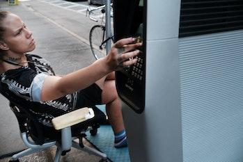LinkNYC kiosk homeless problem