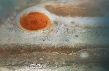 jupiter great red spot nasa