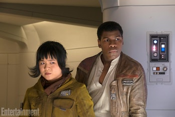 Rose and Finn will partner up in 'The Last Jedi.'