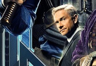 Martin Freeman as Everett K. Ross