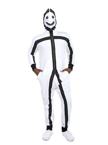 Men's Stick Figure Costume - Halloween Stick Man Costume Jumpsuit
