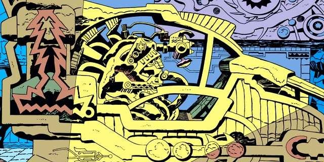 temple of the space gods eternals jack kirby