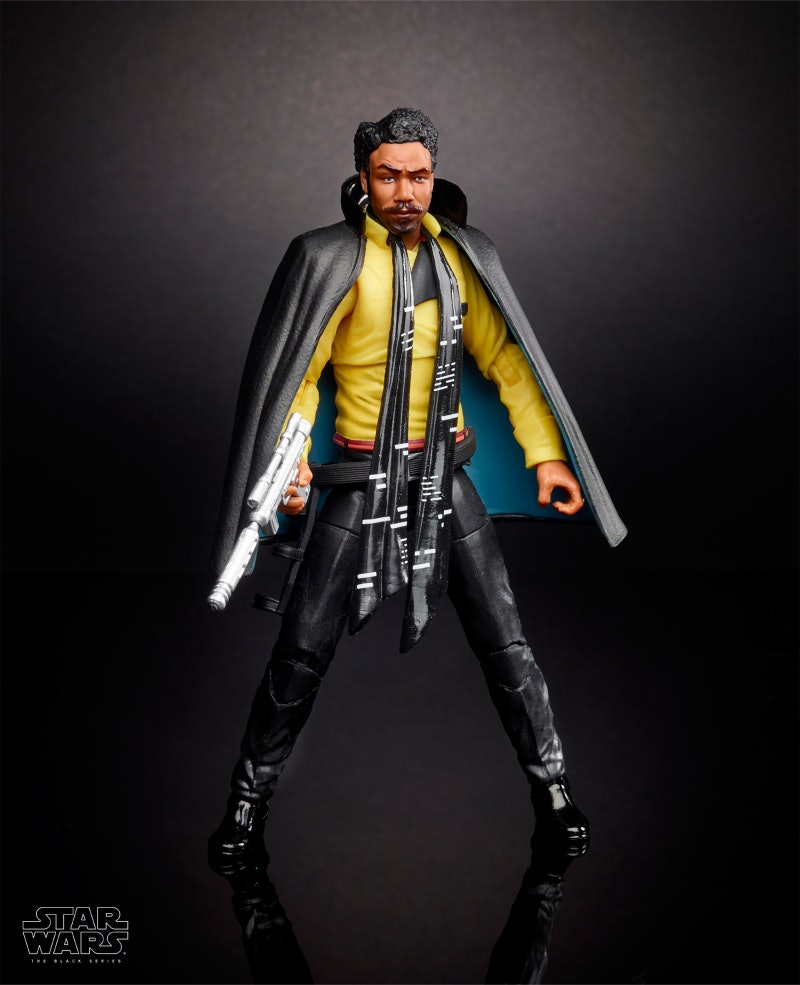 Toy forDonald Glover's Lando Calrissian.
