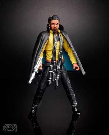 Toy for Donald Glover's Lando Calrissian.