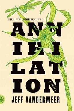 Annihilation book cover